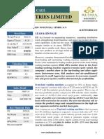 Ifb Industries Ltd