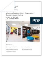 Wimmera Regional Library Corporation Service Delivery Strategy 2018-2028