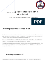 Coaching Classes for Class 9th in Ghaziabad