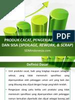 8. Produk Cacat, Pengerjaan Ulang, dan Sisa (Spoilage, Rework, & Scrap)