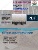 acoustic materials jazz ppt..