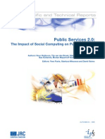 Public Services 2.0. The impact of social computing on public services