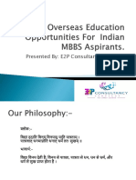 Overseas Education Opportunities for Indian MBBS Aspirants