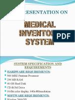 Medical Inventory