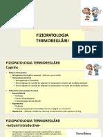 2019. Curs Fiziopatologia   termoreglarii
