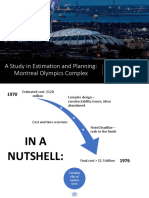 Montreal Olympic Stadium Case Study - Group 6