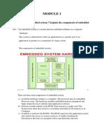 Embedded system module 1
