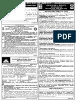 UPSC 2019 Jobs Recruitment of 80 Legal Officer, Botanist, JAD and More Jobs