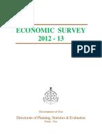 Economic_survey_2012-13 india