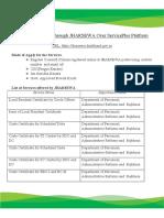 ServiceWiseRequirements