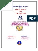Itc-impact of Itc on Fmcg Sector