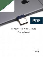 ESP8266-S1 DataSheet V2.0