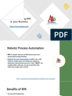 Benefits of Using RPA in Your Business