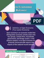 Open economic balance