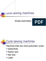 Cycle Sewing Machines