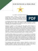 Escuela Dominical Rosacruz - Articulos de Rayos de la Rosacruz