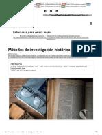 Métodos de investigación histórica - Somos Vicencianos