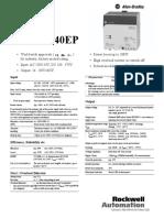 Datasheet - 1606-XL240EP