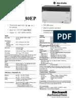 Datasheet - 1606-XL480EP