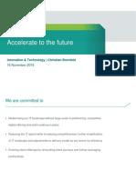 Accelerate to the Future - Christian Bornfeld