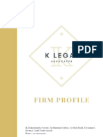 K Legal  Firn Profile
