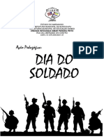 AÇÃO PEDAGÓGICA - dia do soldado