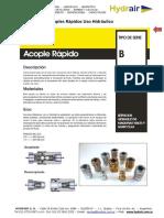 Acoples Rapidos Uso Hidraulico - Hydrair SA
