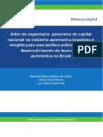 Além da engenharia - panorama do capital nacional - BNDES Setorial, 40, set 2014