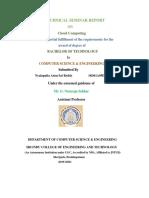 cloud computing seminar