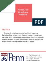 alivia crum veterinary medicine