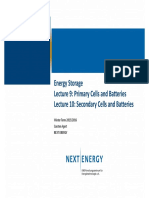 Primary Batteries 2020