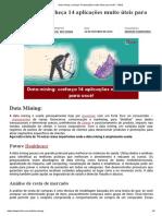 Data mining_ conheça 14 aplicações muito úteis para você! - FM2S