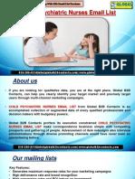 Child Psychiatric Nurses EmailList