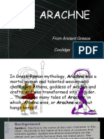 Presentation 2nd quarter for grade10 student..... story about arachne