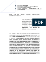 2516-2002 - CUMPLIMIENTO DE LO EJECUTORIADO alberto gutierrez bardales