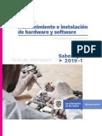 Guia de orientacion  modulo de mantenimiento e instalacion de hardware y software saber tyt 2019-1