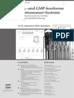 FDA- und GMP-konforme Pharmawasser-Systeme - GMP-Navigator