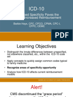 ICD10IncreasedSpecificity