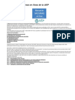 Manual de vacunas en línea de la AEP