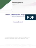 FAMILIAS TRANSTERRITORIALES, MULTILINGUISTICAS Y SOCIOCOMUNICACIONALES