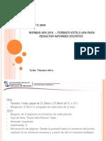 presentacion norma apa 2017