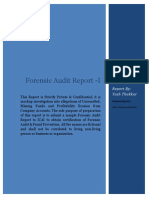 Forensic Audit Report