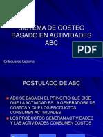 Sistema de Costeo Basado en Actividades ABC