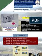 SEMANA 3 - Métodos de Cultivo NMP, Sustrato Definido y Filtración de Membrana