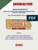 catalogo Video Rockolas Perú 2020