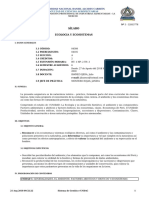 SILABO -04308 ECOLOGIA Y ECOSISTEMAS - 2018-II