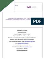 CONSTRUCCION DE RUBRICAS PARA LA EVALUACION DE COMPETENCIAS PROFESIONALES EN LAS EMPRESAS DE INSERCION