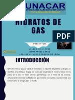 Equipo 9 HIDRATOS DE GAS