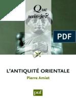 AMIET - L'antiquite orientale - Amiet Pierre