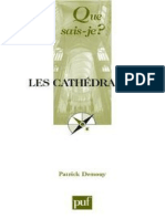 DEMOUY - Les cathedrales - Demouy Patrick